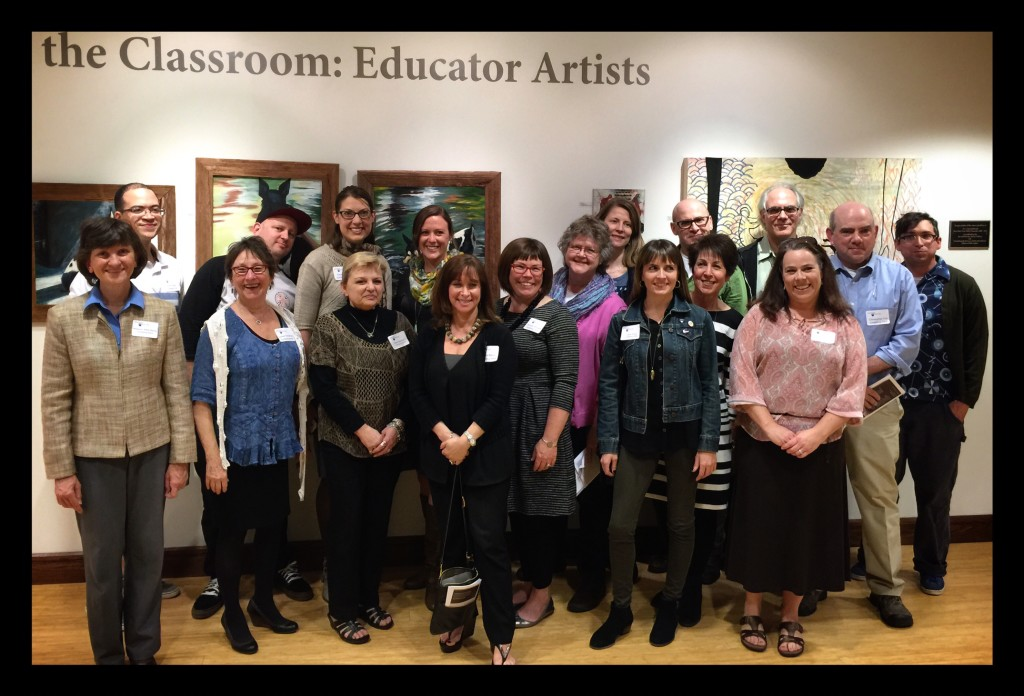 Beyond the Classroom: Educator Artists, The Henry Gallery at Penn State Great Valley campus.