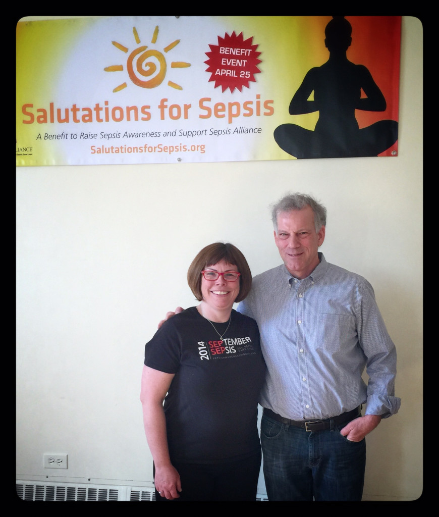 Salutations for Sepsis at South Mountain Yoga in South Orange.