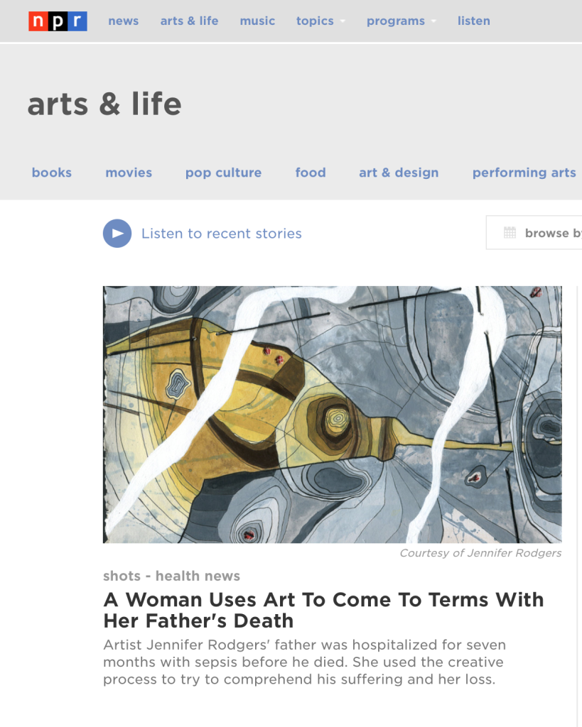 npr website-arts & life