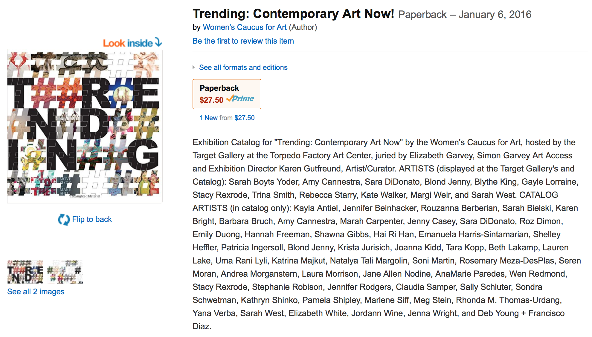 Trending: Contemporary Art Now! | Jennifer Rodgers